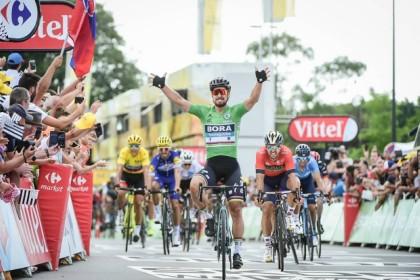 VÍDEO Tour de Francia: Segunda victoria para Caleb Ewan
