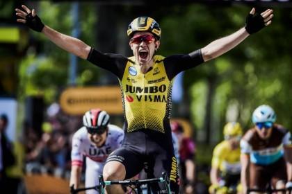 Vídeo Tour de Francia: Van Aert gana el día de los abanicos, Landa pierde dos minutos