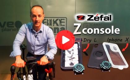 Vídeo: Tu smartphone a salvo encima de la bici con ZÉFAL Z Console