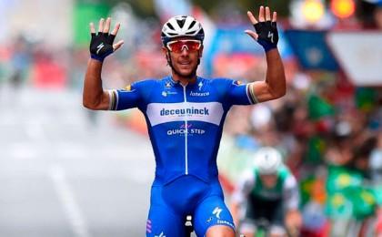 Vídeo Vuelta: Philippe Gilbert exhibe su clase en Bilbao