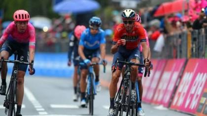 Vídeos Giro de Italia: Nibali y Carapaz descuelgan a Roglic