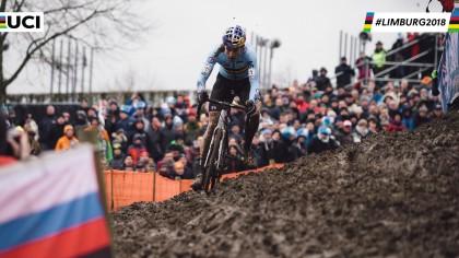 Vídeos: Wouert Van Aert y Sanne Cant campeones del mundo de ciclocross