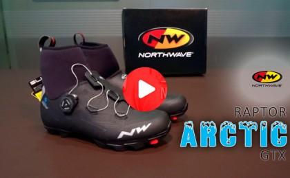 Vídeotest: Zapatillas Northwave Raptor Arctic Vs invierno