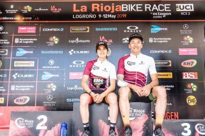 Vlad Dascalu y Rocío del Alba García se llevan la Rioja Bike Race