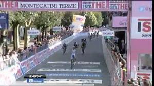 Giro de Italia: Vídeo últimos kilómetros etapa 11