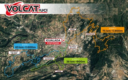 VolCAT, centro neurálgico del mejor mountain bike