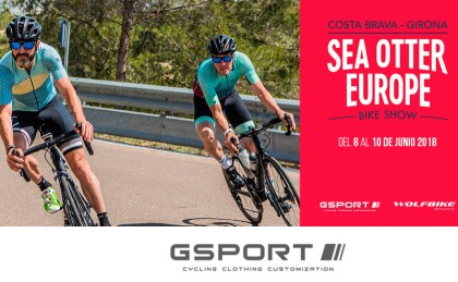 Wolfbike y GSport estarán en la Feria Sea Otter Europe 2018