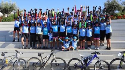 Women In Bike vive una auténtica fiesta en Carbajosa de la Sagrada