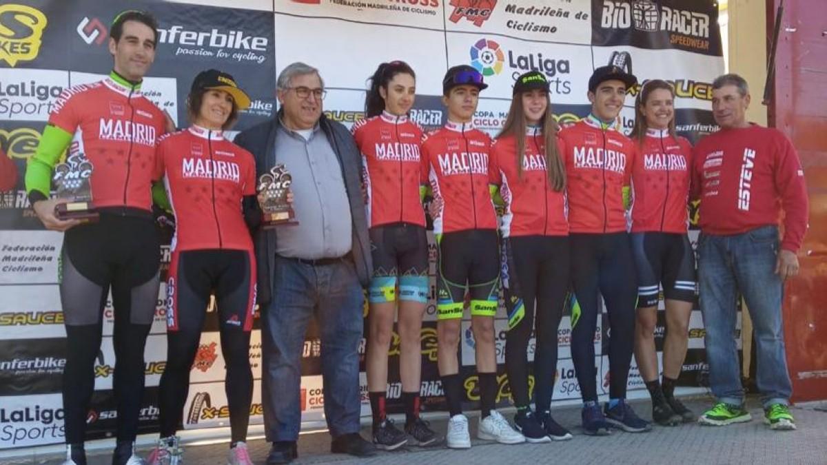 Última prueba de la XV Copa Comunidad de Madrid de ciclocross