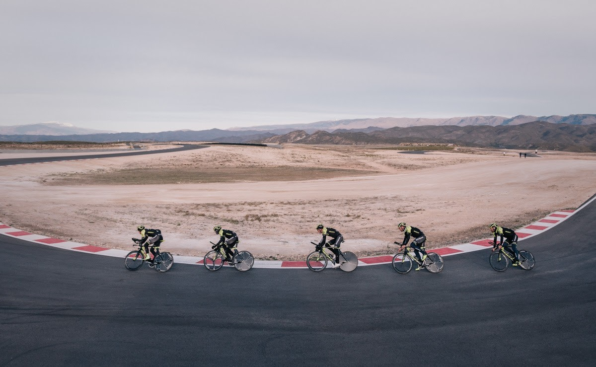 Últimas plazas disponibles para la VII TRACKMAN CYCLING ANDALUCIA CIRCUIT 2021
