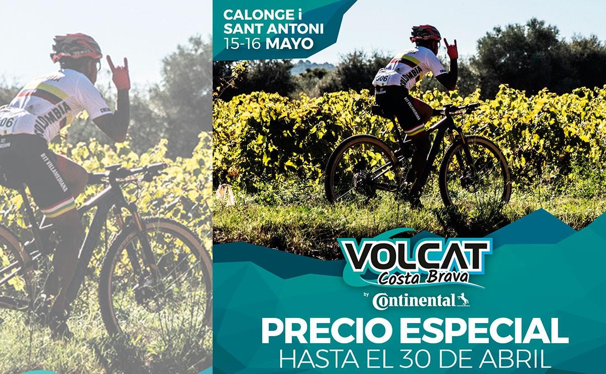Últimas plazas para la VolCAT Costa Brava by Continental
