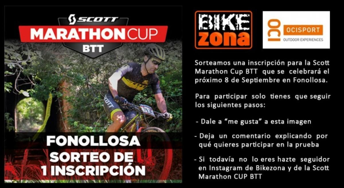 Una inscipción gratis para la Scott Marathon Cup BTT de Fonollosa en juego