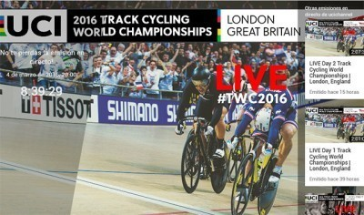 Vídeo: El mundial de pista en directo