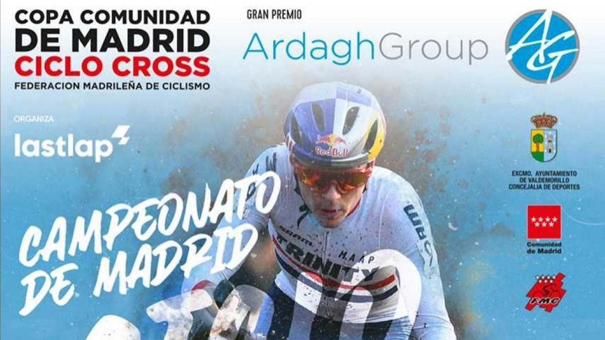 Valdemorillo sede del Campeonato de Madrid de Ciclocross 2020