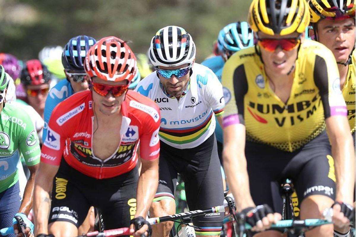 Valverde recupera el segundo puesto tras el paso por la montaña madrileña