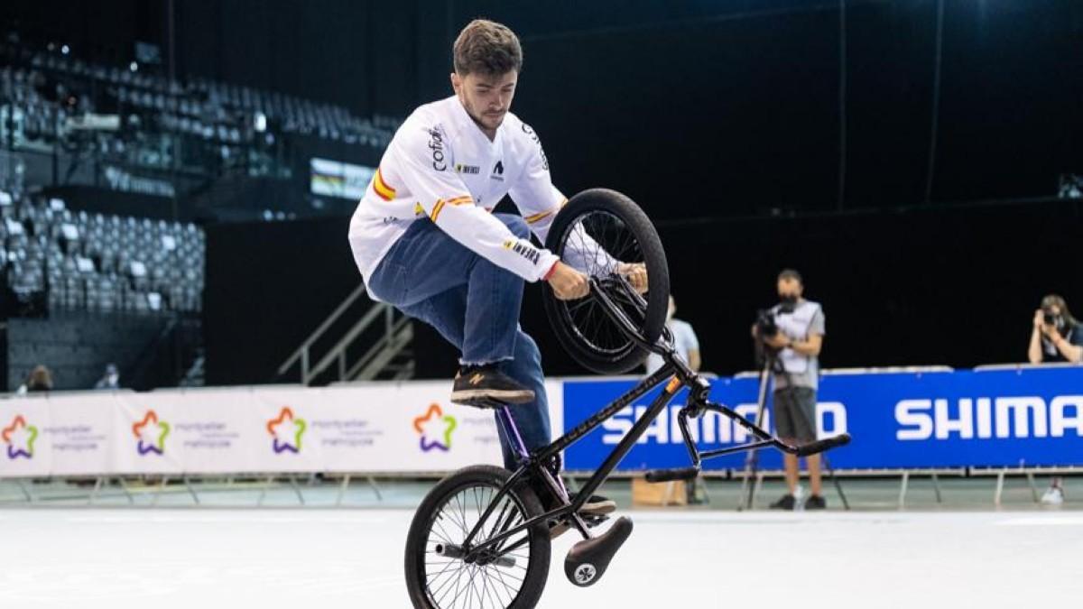 Varo Hernández consigue el sexto puesto en el Mundial de BMX Freestyle Flatland