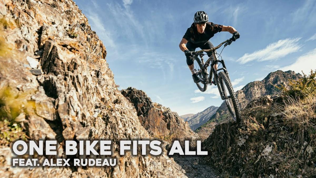 Vídeo:  Alex Rudeau exprime la Commencal META TR 29