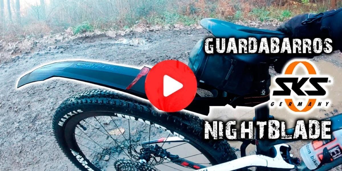 Presentación guardabarros<br /> NIGHTBLADE y BLUEMELS de SKS