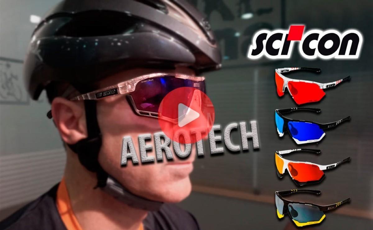 ¡Nuevo programa! SCICON presenta sus nuevas gafas AEROTECH