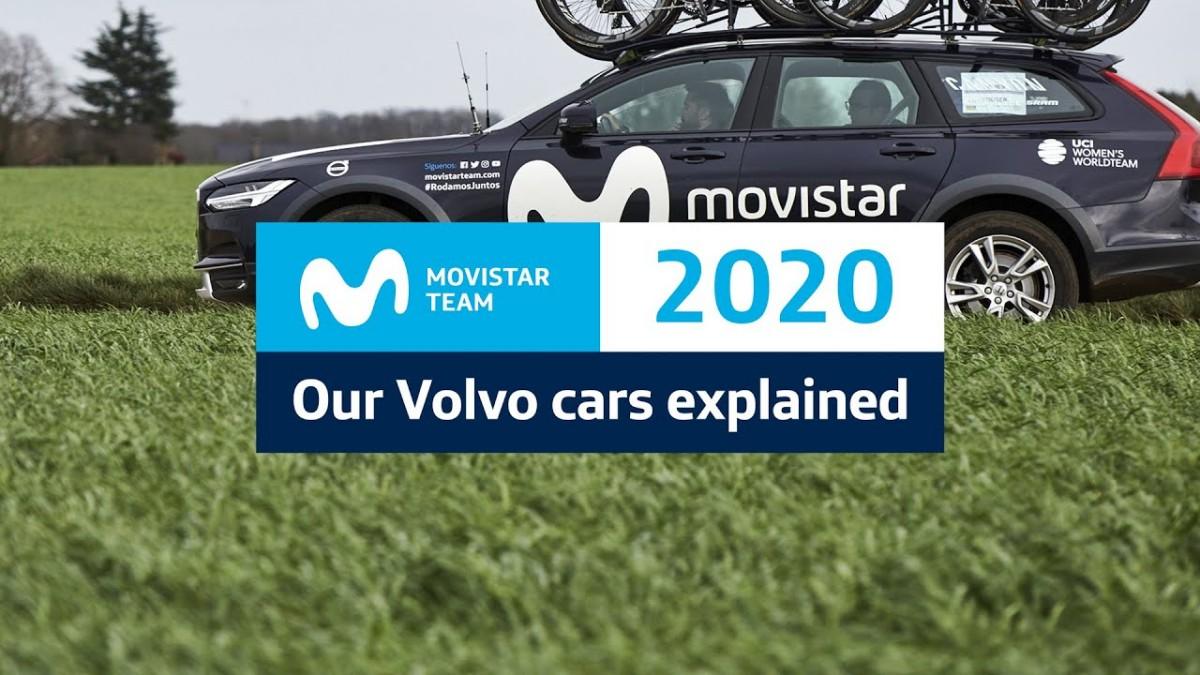 Vídeo: Así están equipados los coches Volvo del Movistar Team