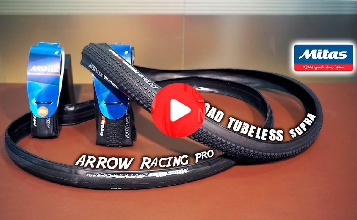 Cubiertas MITAS Arrow Racing Pro y X-Road Tubeless