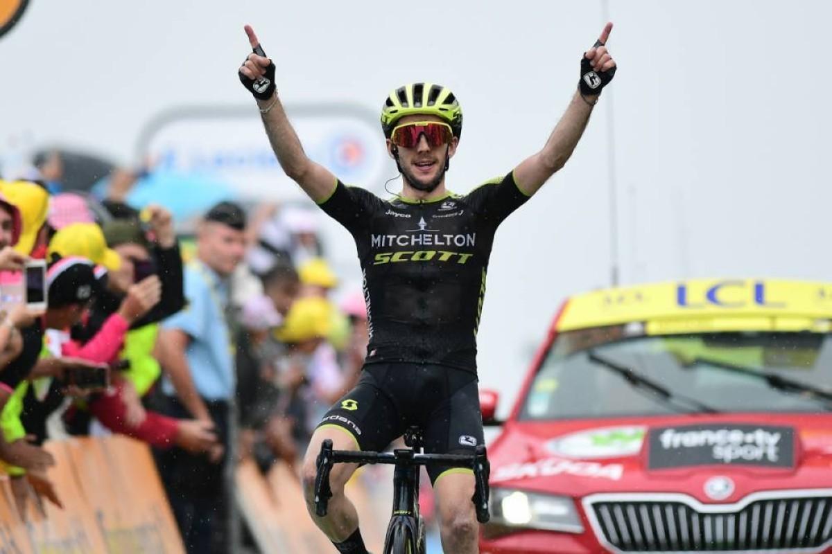 Vídeo etapón Tour de Francia: Simon Yates gana, Landa da espectáculo y Alaphilippe cede