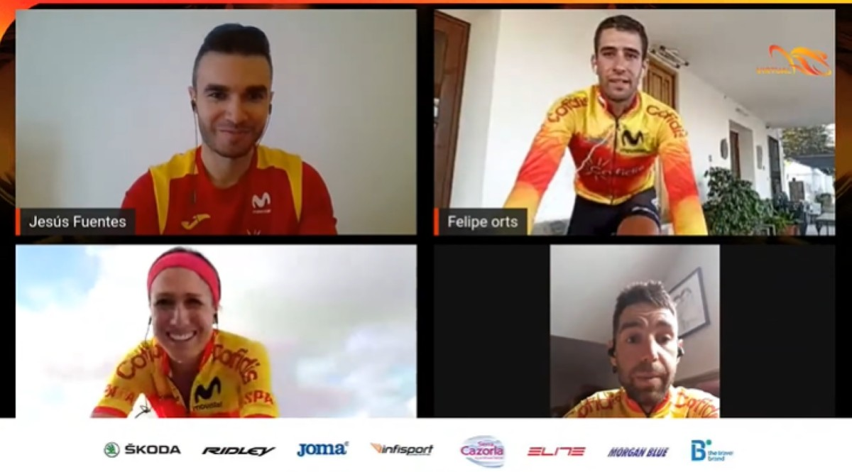 Vídeo:  II quedada virtual del #TeamESPciclismo
