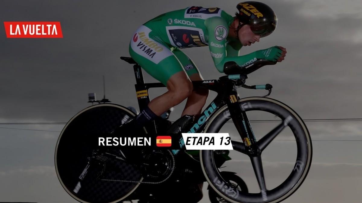 Vídeo La Vuelta: Primoz Roglic recupera el maillot de líder tras la crono