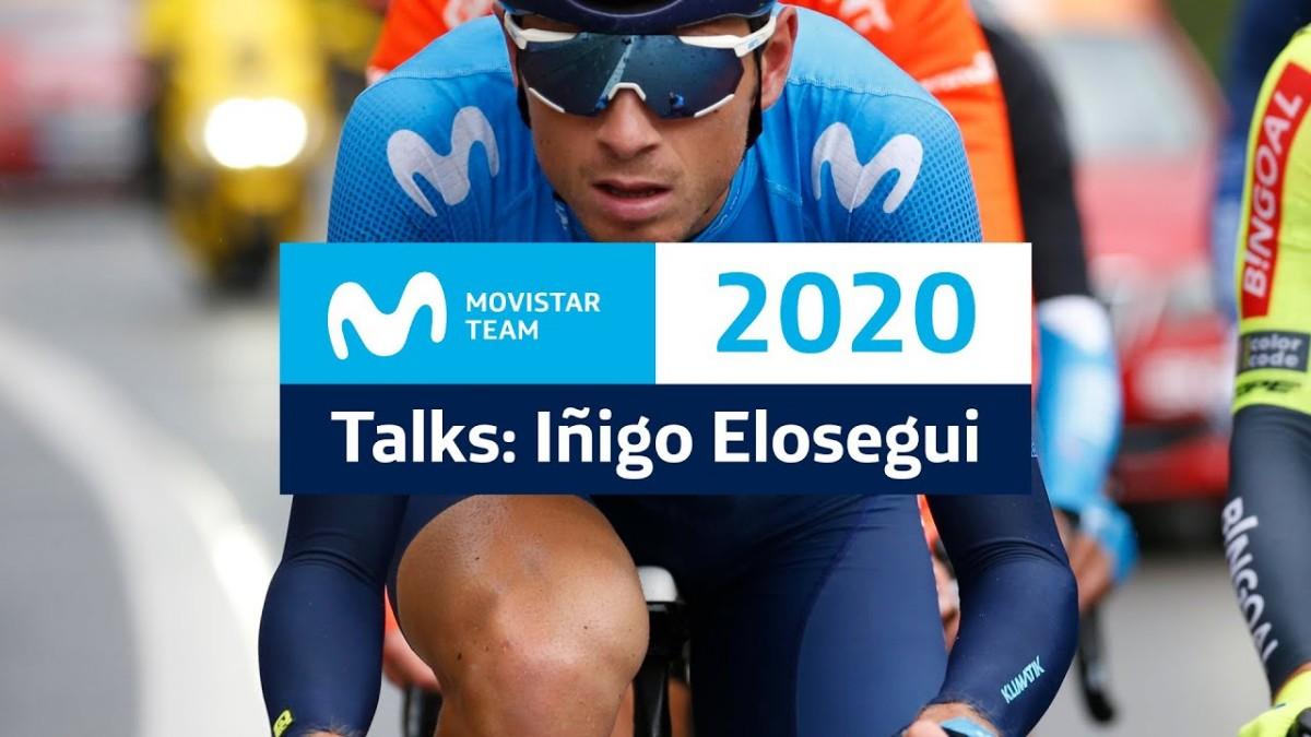 Vídeo: Movistar Team Talks con el corredor Iñigo Elosegui
