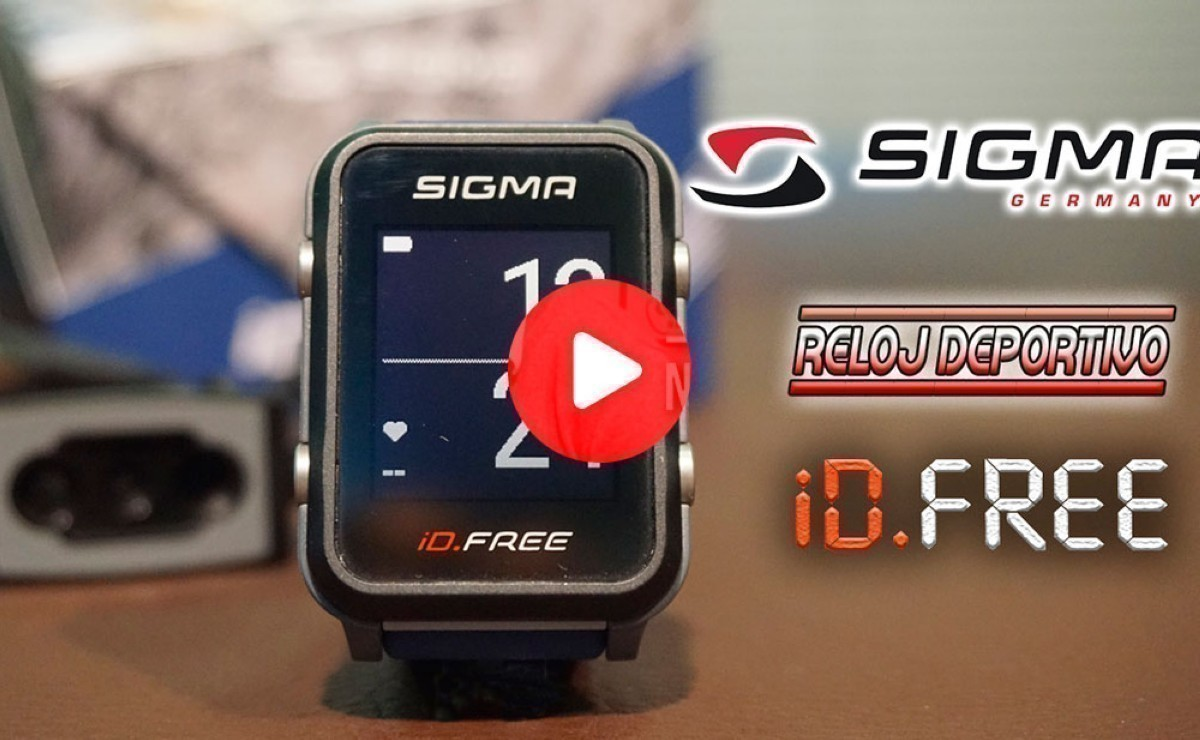 Presentación:  Reloj multideporte Sigma iD.FREE
