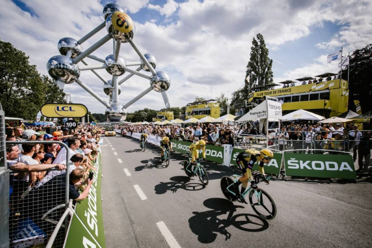 Vídeo: Resumen crono por equipos Tour de Francia