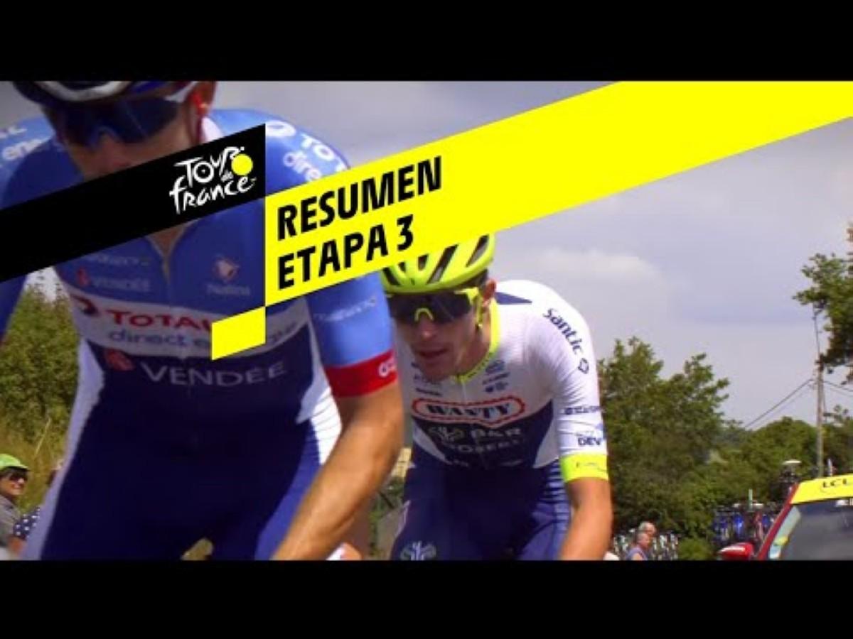 Vídeo: Revive la victoria de Julian Alaphilippe en la tercera etapa del Tour de Francia