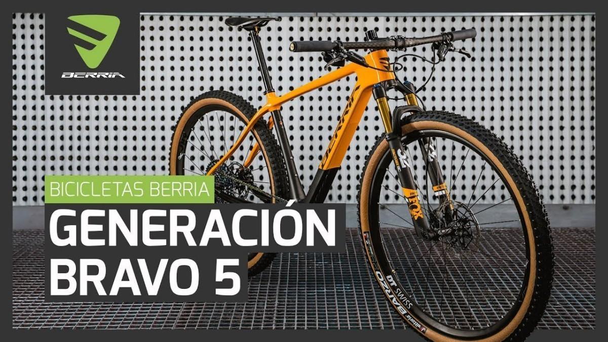 Vídeo: Todo sobre la nueva generación Bravo 5 de BERRIA BIKE