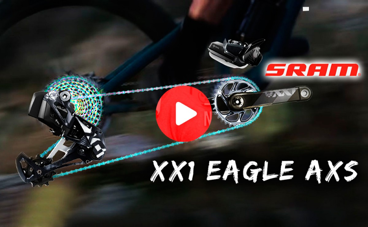 Vídeo: Todo sobre el SRAM XX1 Eagle AXS