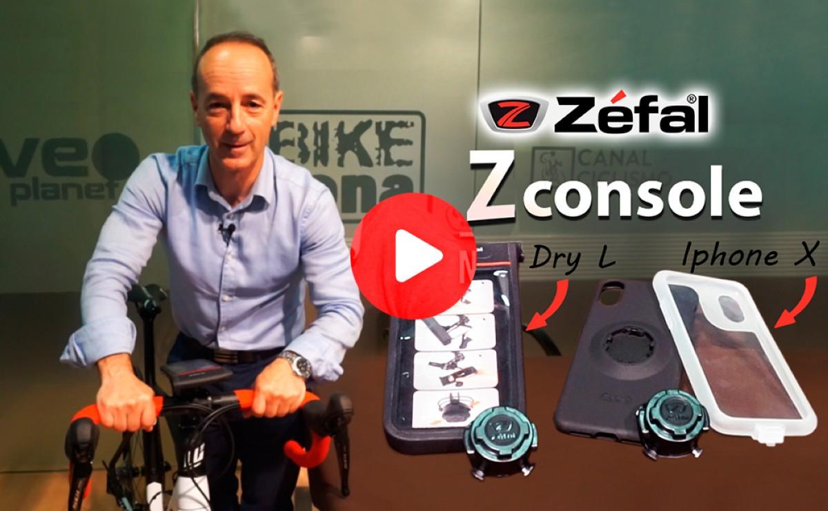 Presentación: Soportes para móvil ZÉFAL Z Console