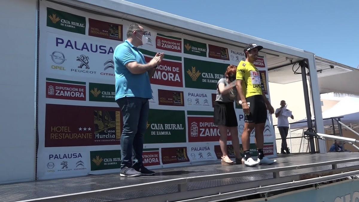 Vídeoresumen: Segunda etapa de la Vuelta a Zamora 2020