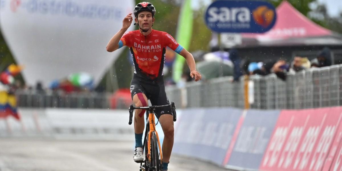 Attila Valter lidera el Giro de Italia