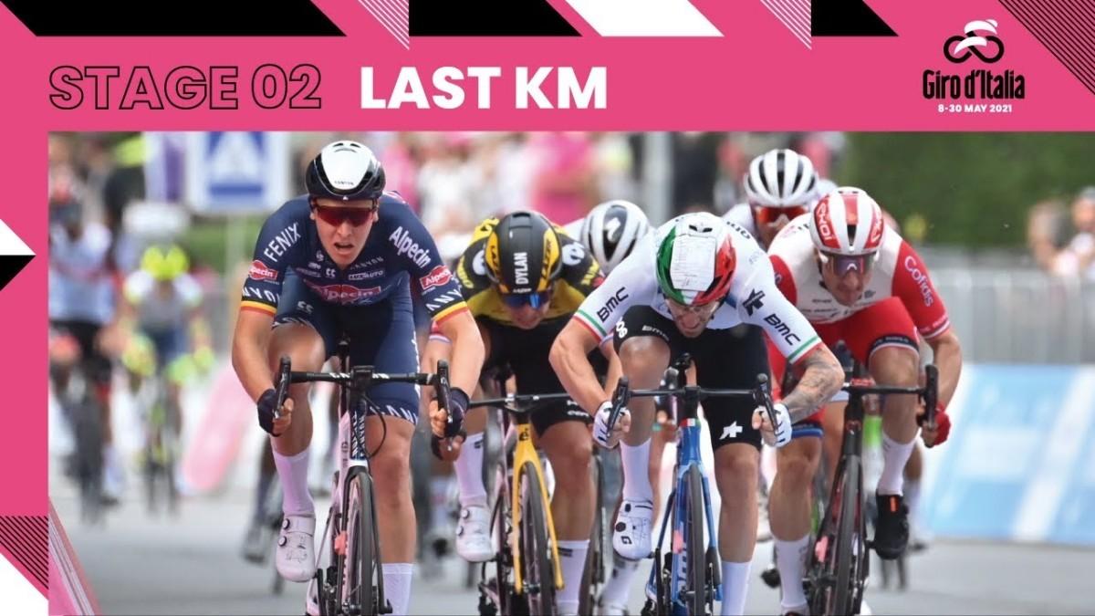 Giro de Italia<br>Lo mejor de la segunda etapa
