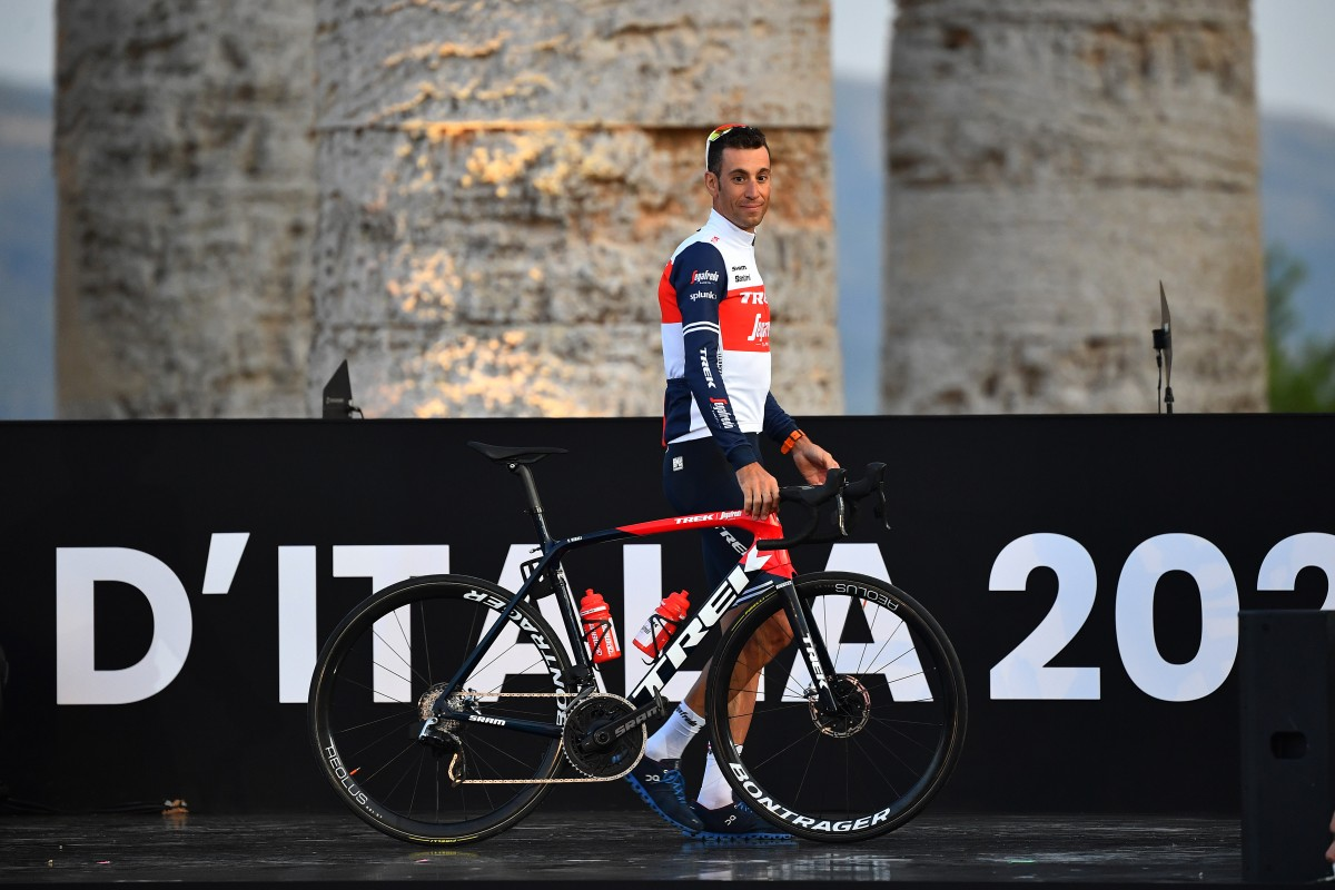 Vincenzo Nibali confirma su presencia en el Giro de Italia