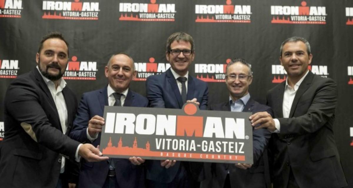 Vitoria acogerá una prueba IRONMAN en 2019
