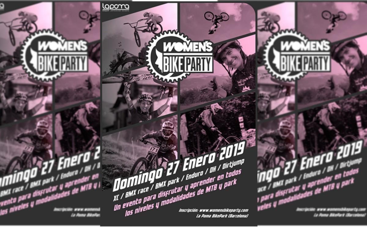 Women Bike Party: El primer evento femenino con seis modalidades de MTB