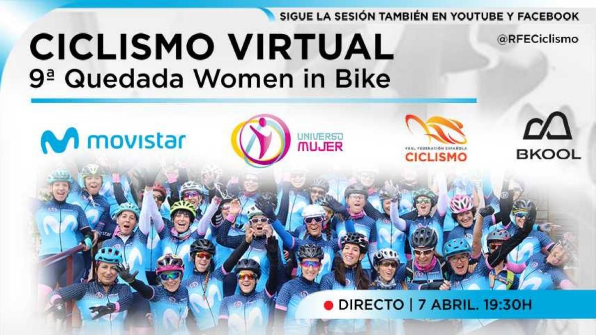 Women in Bike rodará de forma virtual en la París-Roubaix