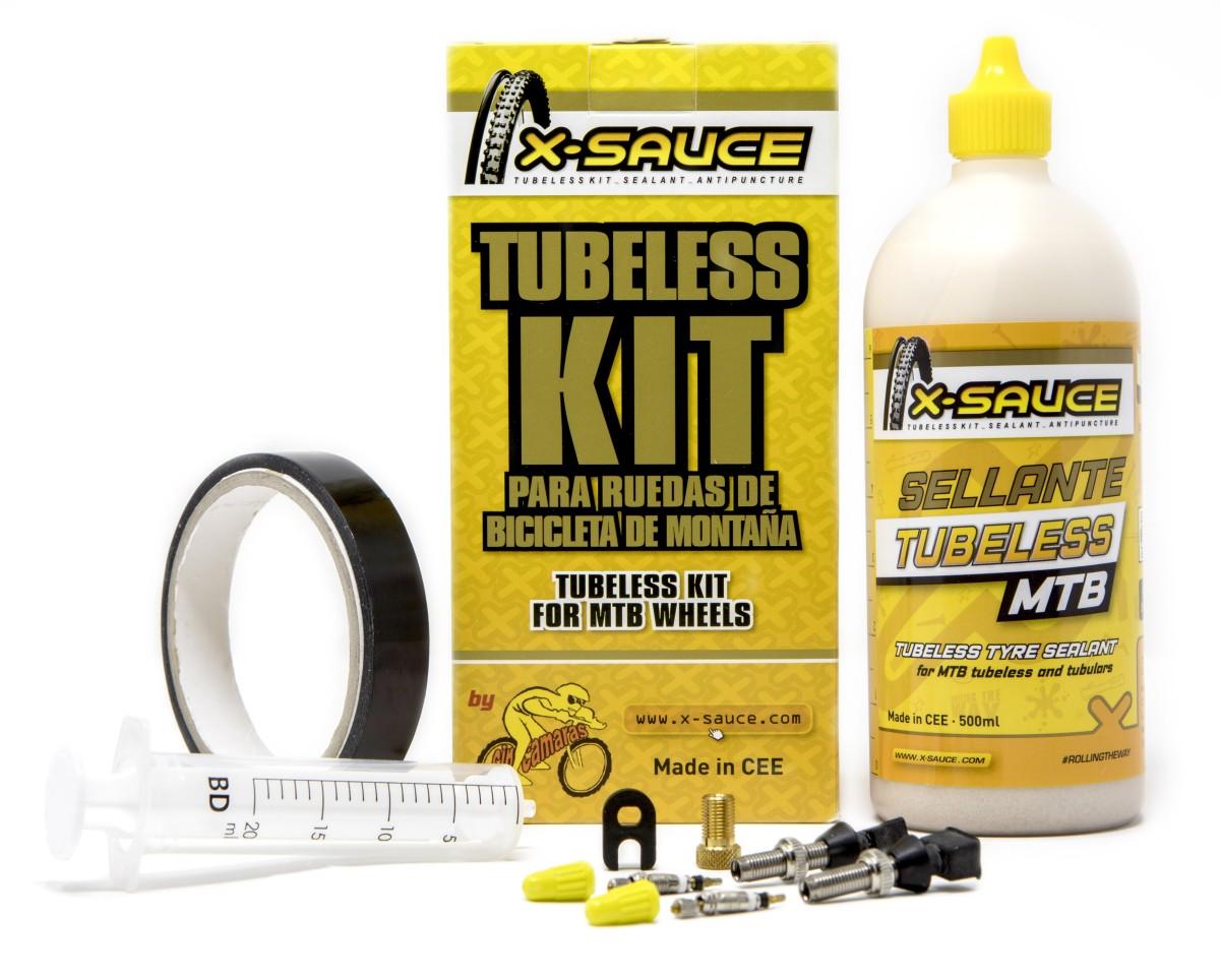 X-Sauce renueva y mejora su Kit Tubeless