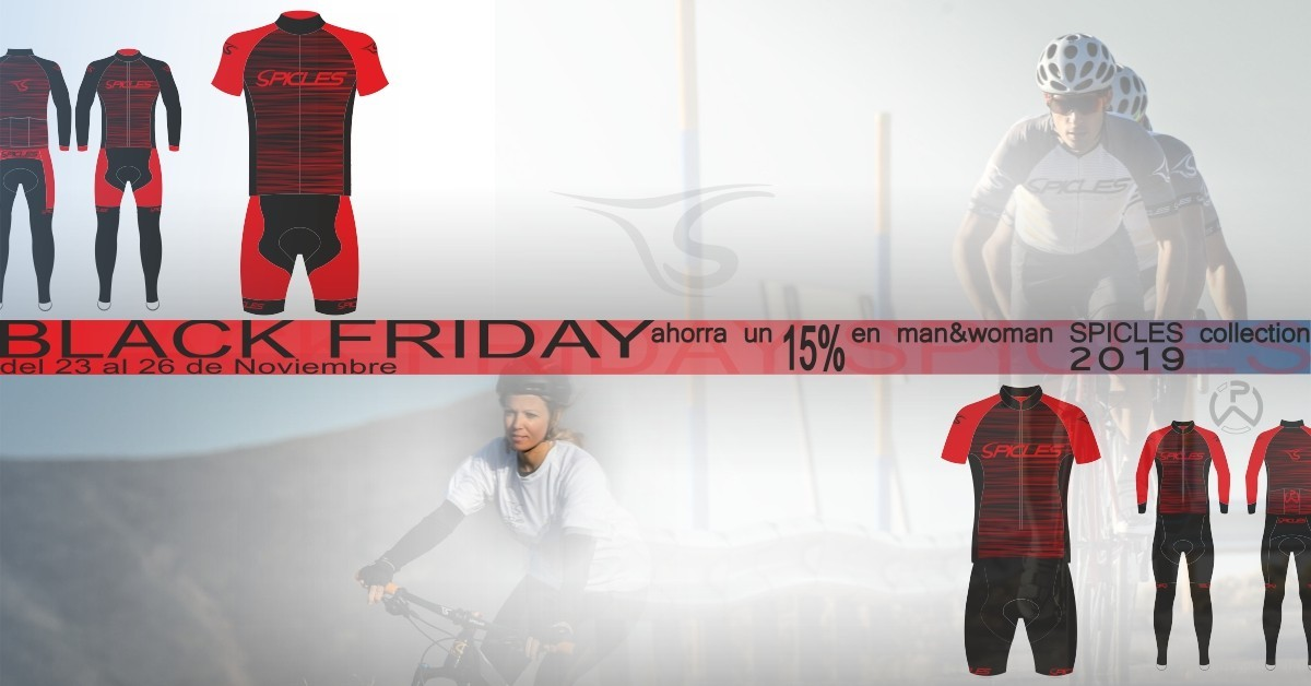 Ya puedes lucir la ropa ciclista Spicles Bikes