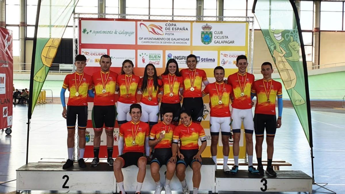Zuazubiskar-Azparren y Calvo-Larrarte campeones de Madison 2020