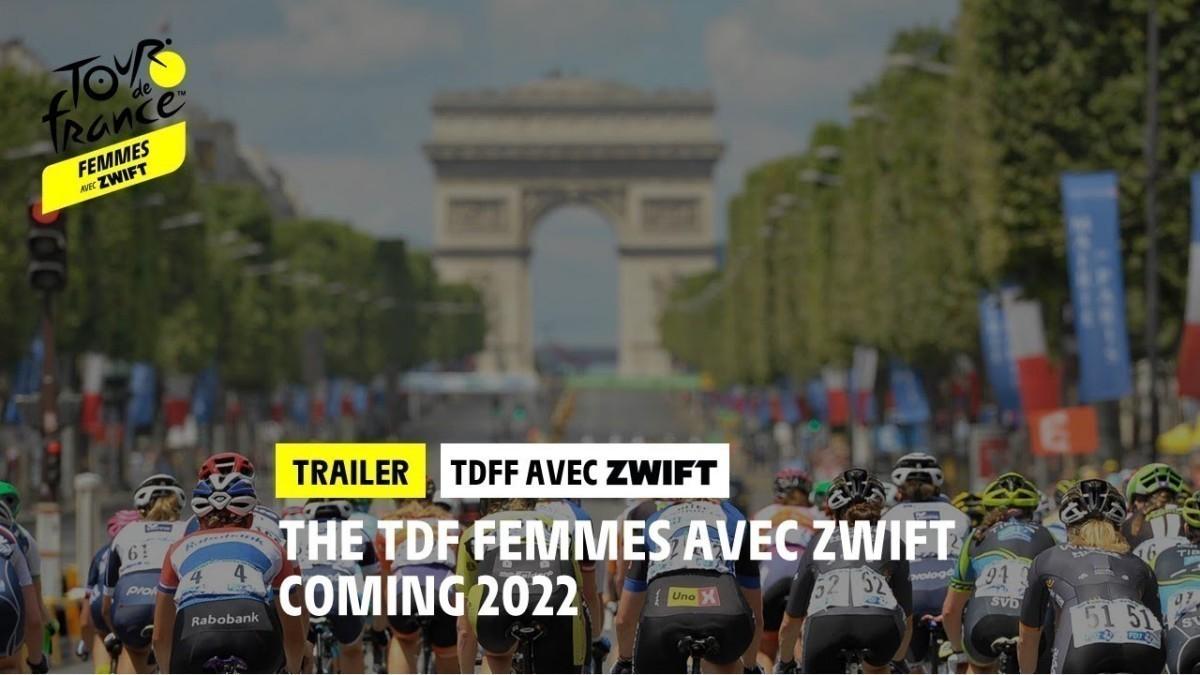 El Tour de Francia femenino contará con ocho etapas con Zwift como partner oficial